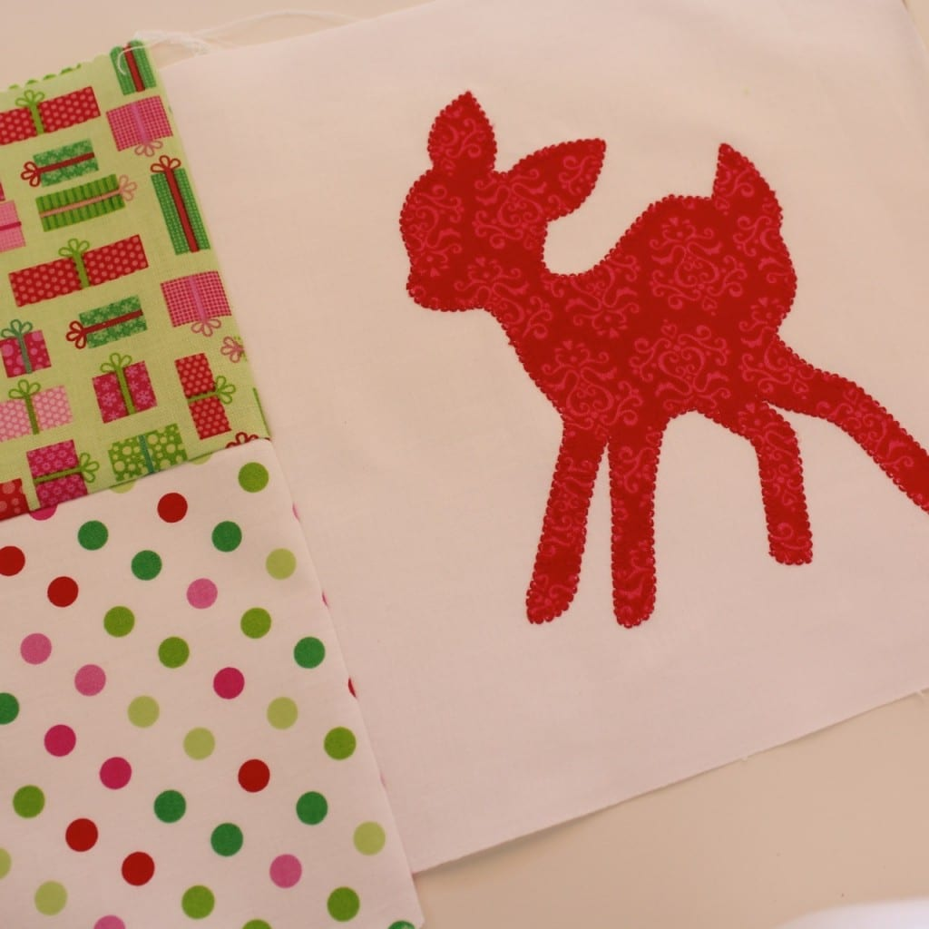 DEER APPLIQUE18