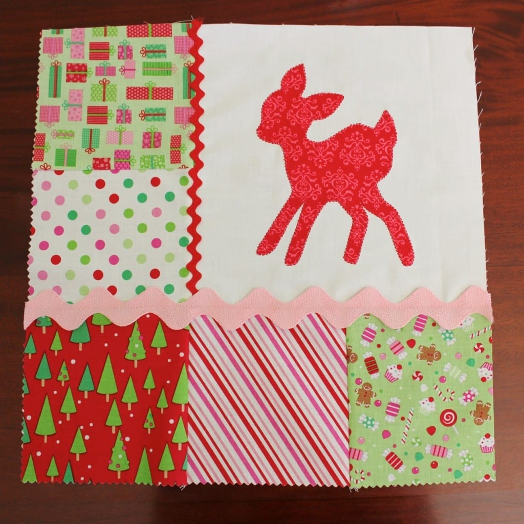 DEER APPLIQUE20