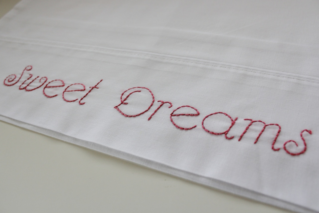 Embroider a Pillowcase with Molly and Mama13