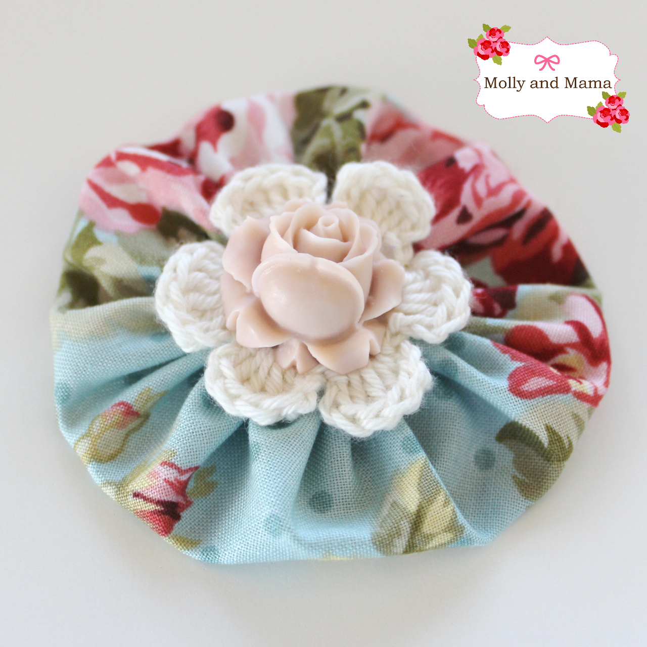 Create this pretty Yo Yo Clip using the free tutorial