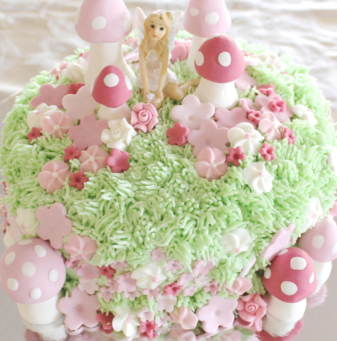 A fairy cake fit for a princess - by Molly and Mama