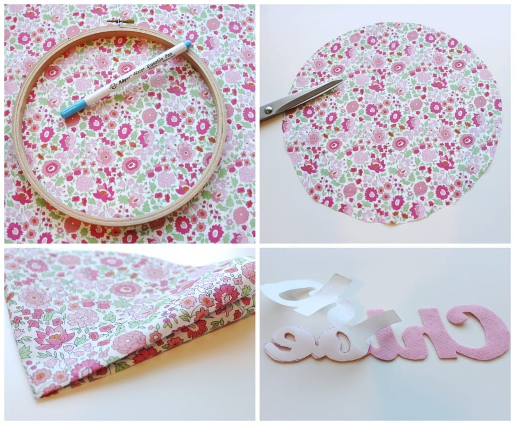 Make a Headband Holder by Molly and Mama