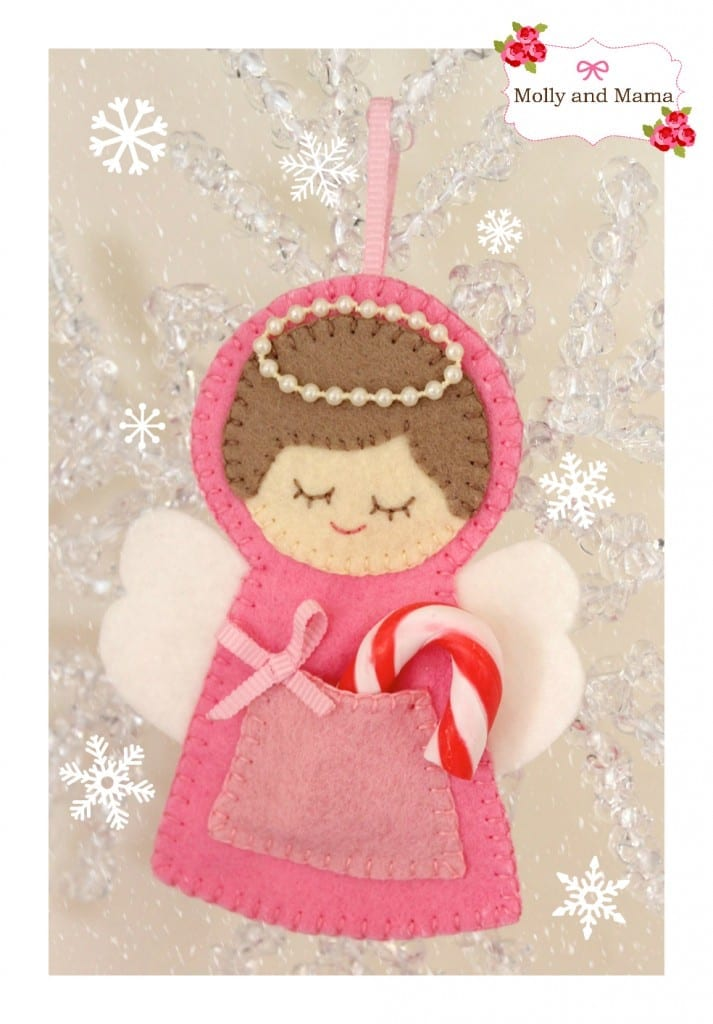 Sew a Christmas Angel Ornament with Molly and Mama
