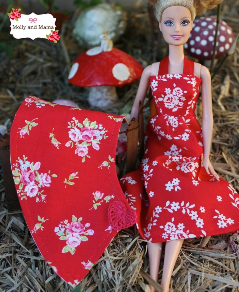 Barbie's Lil Red Cape by Molly and Mama