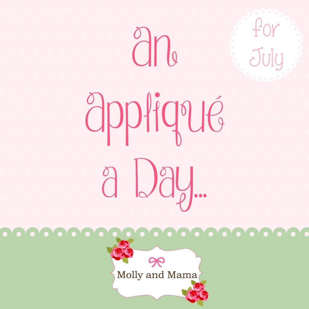 An Applique A Day - Molly and Mama