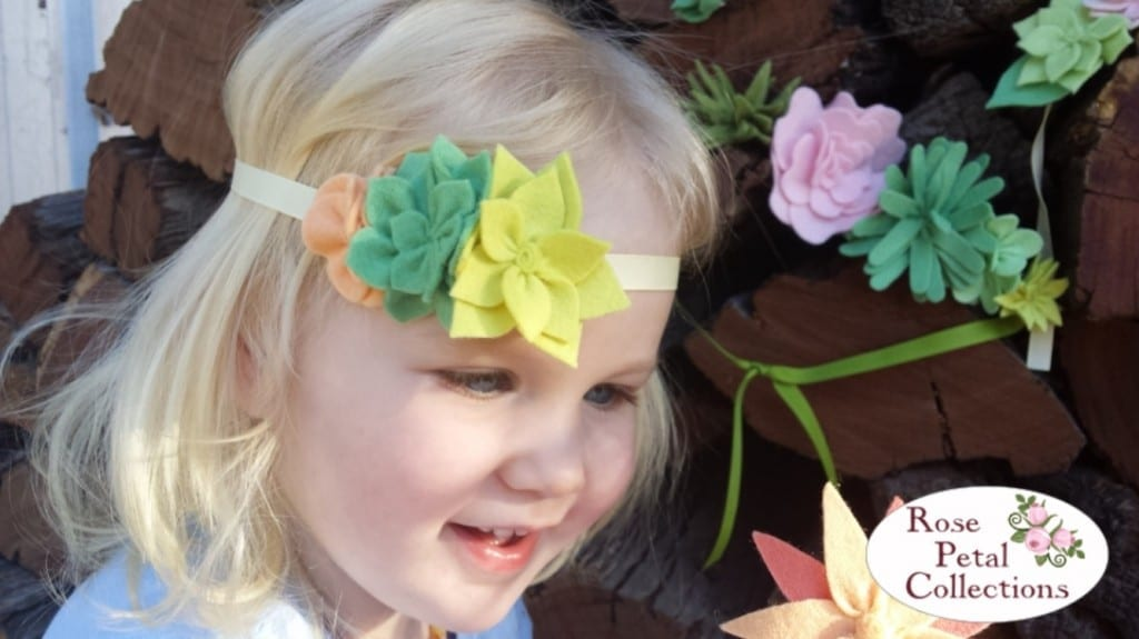 Coco Flower Crown by Rose Petal Collections