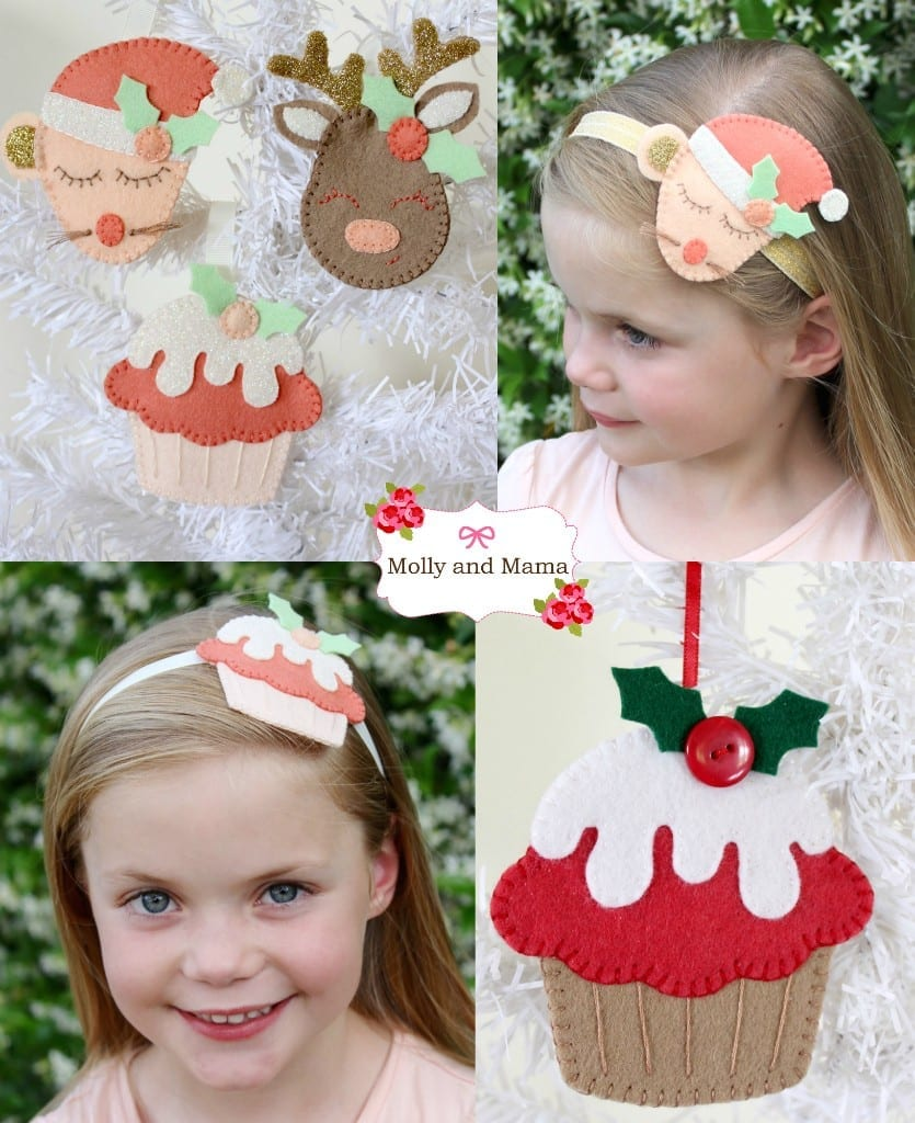 Festive Feltie Inspiration by Molly and Mama