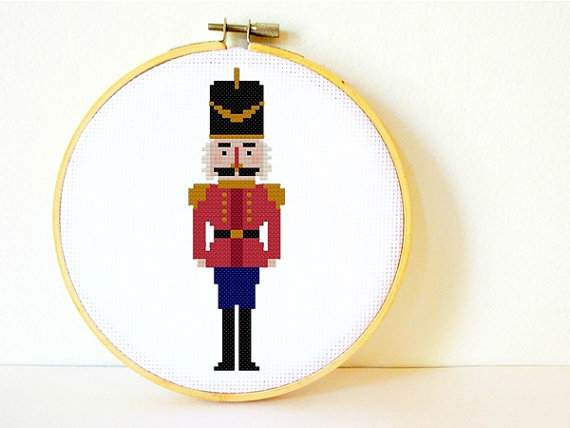 Charlotte Alexander Nutcracker counted cross stitch pattern