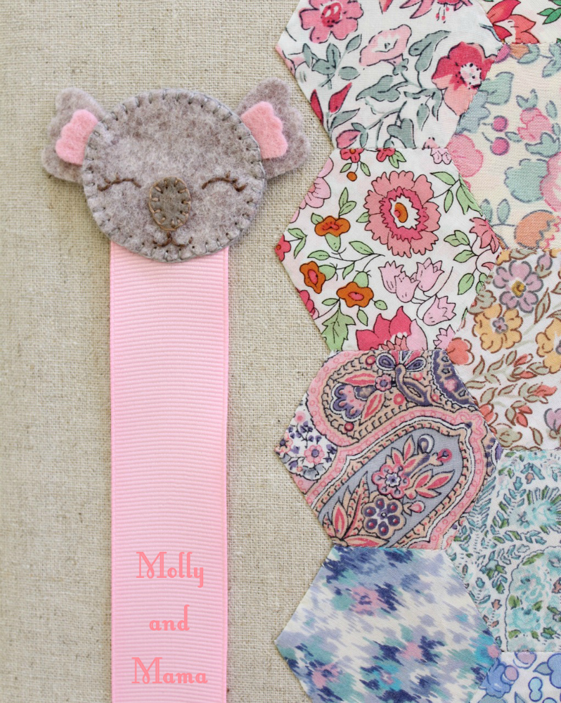 Koala Bookmark Tutorial by Molly and Mama