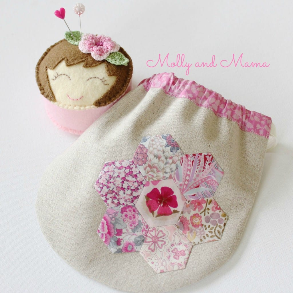 Miss Molly and Hexie Pouch by Molly and Mama