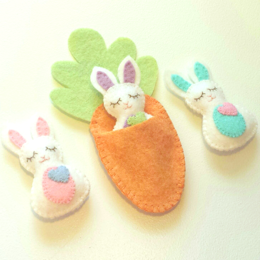 Sew Lizzy's Bitty Bunnies